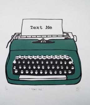 Typewriter (Green) 1