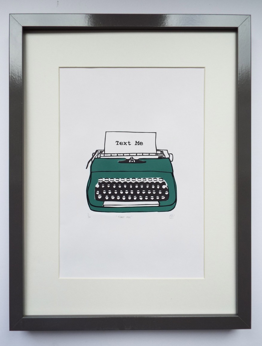 Typewriter (Green) 5